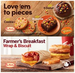 Tim Hortons deals in the Montreal flyer