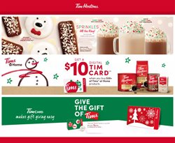 Tim Hortons deals in the Tim Hortons catalogue ( Expired)