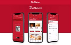 Restaurants deals in the Tim Hortons catalogue ( 22 days left)