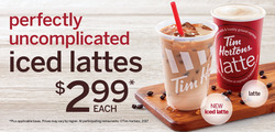 Tim Hortons deals in the Toronto flyer
