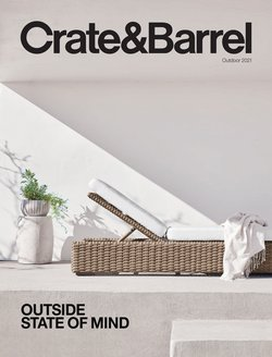 Home & Furniture deals in the Crate & Barrel catalogue ( Expires today)