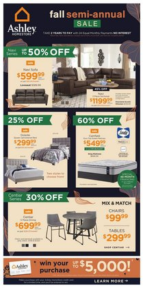 Ashley Furniture deals in the Ashley Furniture catalogue ( 5 days left)