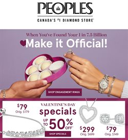 Peoples Jewellers catalogue ( 20 days left )
