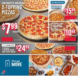Domino's Pizza catalogue ( 10 days left )