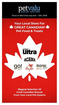 Petvalu catalogue in Hamilton ( 5 days left )