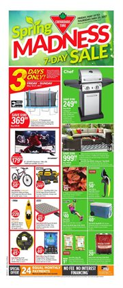 Canadian Tire deals in the Quebec flyer