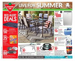 Canadian Tire deals in the Ottawa flyer