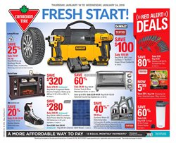 Canadian Tire deals in the Gatineau flyer