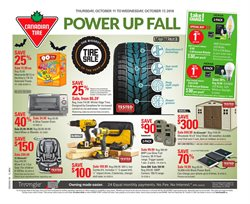 Canadian Tire deals in the Chatham-Kent flyer