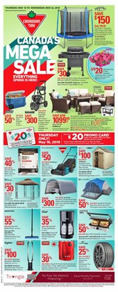 Canadian Tire deals in the Prince George flyer