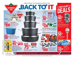 Canadian Tire deals in the Drummondville flyer