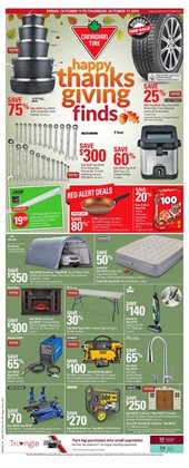 Canadian Tire deals in the Saint-Hyacinthe flyer