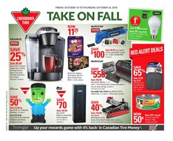 Canadian Tire deals in the Toronto flyer