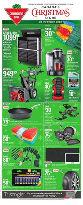 Canadian Tire deals in the Shawinigan flyer