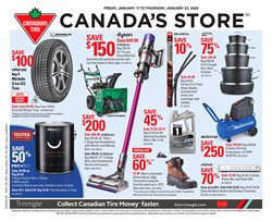 Canadian Tire deals in the Edmonton flyer