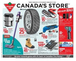 Canadian Tire catalogue in Toronto ( Expires today )