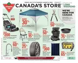 Canadian Tire catalogue in Vancouver ( Expires today )