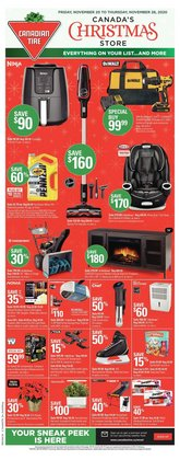 Canadian Tire catalogue ( Expires tomorrow )