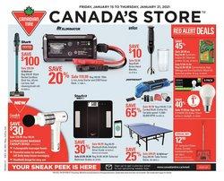 Canadian Tire catalogue ( 3 days left )