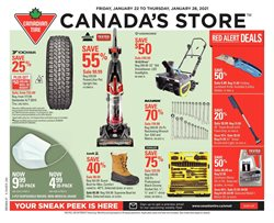 Canadian Tire catalogue ( 3 days left )