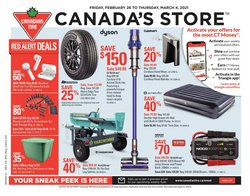 Canadian Tire catalogue ( 3 days ago )
