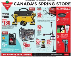 Canadian Tire catalogue ( 2 days left )