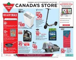 Canadian Tire catalogue ( 3 days left)