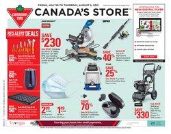 Garden & DIY deals in the Canadian Tire catalogue ( Expires today)