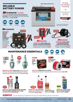 Champion deals in the Canadian Tire catalogue ( 10 days left)
