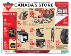 Canadian Tire catalogue ( 6 days left)