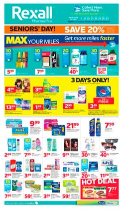 Pharmacy & Beauty offers in the Rexall catalogue in Toronto
