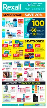 Rexall deals in the Vancouver flyer