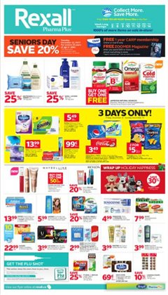 Pharmacy & Beauty offers in the Rexall catalogue in Vancouver