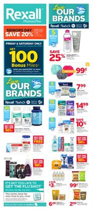 Pharmacy & Beauty offers in the Rexall catalogue in Hamilton