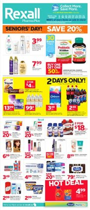 Pharmacy & Beauty offers in the Rexall catalogue in Sarnia