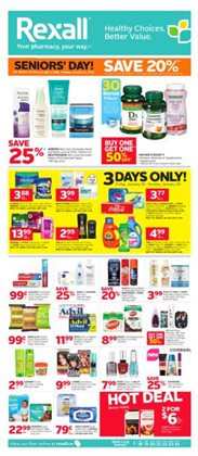 Pharmacy & Beauty offers in the Rexall catalogue in Vernon