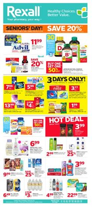 Pharmacy & Beauty offers in the Rexall catalogue in Guelph