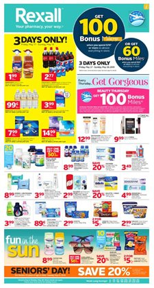 Pharmacy & Beauty offers in the Rexall catalogue in Prince George