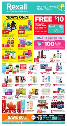 Pharmacy & Beauty offers in the Rexall catalogue in Regina
