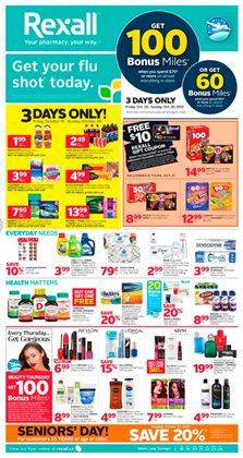 Rexall deals in the Chilliwack flyer