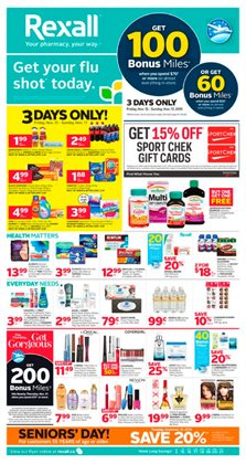 Pharmacy & Beauty offers in the Rexall catalogue in Chilliwack