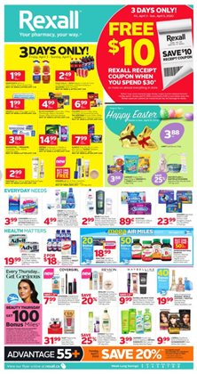 Rexall catalogue ( 3 days left )