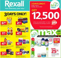 Pharmacy & Beauty offers in the Rexall catalogue in Prince George ( Expires tomorrow )