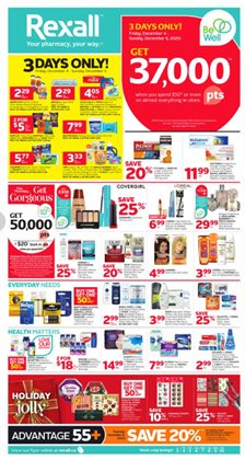 Pharmacy & Beauty offers in the Rexall catalogue in Victoria BC ( 1 day ago )