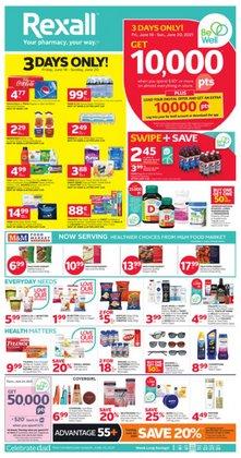 Rexall deals in the Rexall catalogue ( Expires tomorrow)