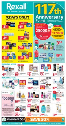 Pharmacy & Beauty deals in the Rexall catalogue ( 2 days left)