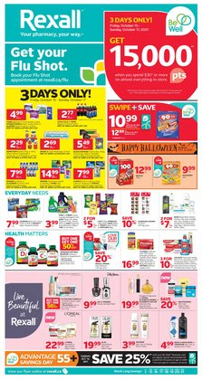 Pharmacy & Beauty deals in the Rexall catalogue ( 3 days left)