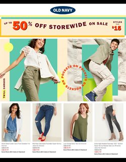 Clothing, Shoes & Accessories offers in the Old Navy catalogue ( 2 days ago )