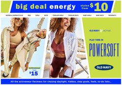 Clothing, Shoes & Accessories deals in the Old Navy catalogue ( 5 days left)
