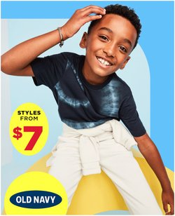 Clothing, Shoes & Accessories deals in the Old Navy catalogue ( 3 days left)